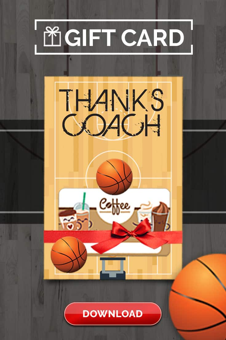 image about Printable Basketball Pictures identify Basketball Practice Reward Thank On your own Card - Absolutely free Printable Down load