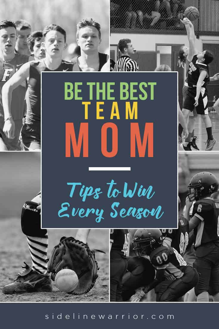 Team Mom ideas to help you win every season! Be the best Team Mom for the athletes and coaches this season with these tips! via @SidelineWarrior