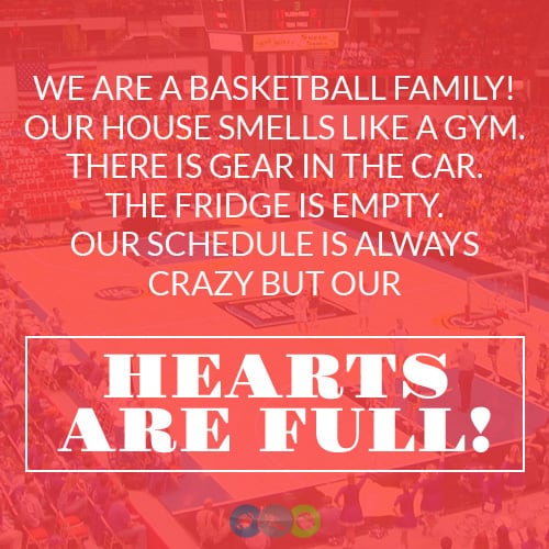 We are a Basketball Family