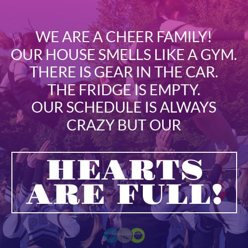 We are a Cheer Family