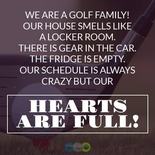 We are a Golf Family
