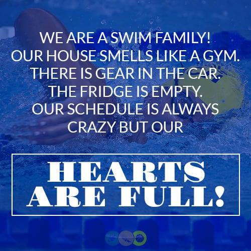 We are a Swim Family