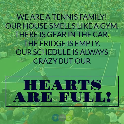 We are a Tennis Family