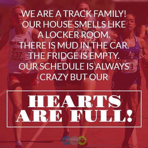 We are a Track Family
