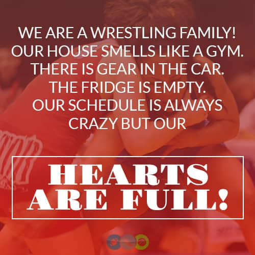 We are a Wrestling Family