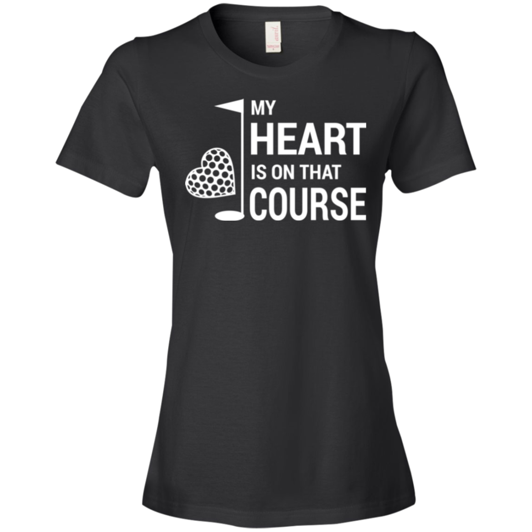 My Heart Is On That Golf Course Shirt