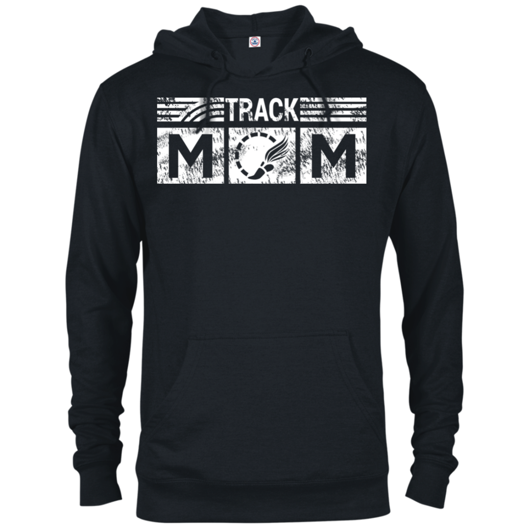 Track Mom Hoodie Sweatshirt